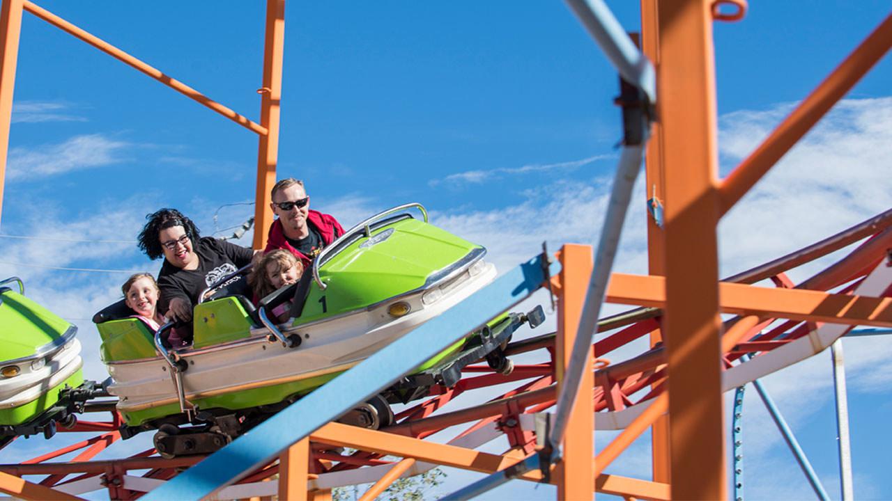 Galaxi Ride at Cliffs Amusement Park
