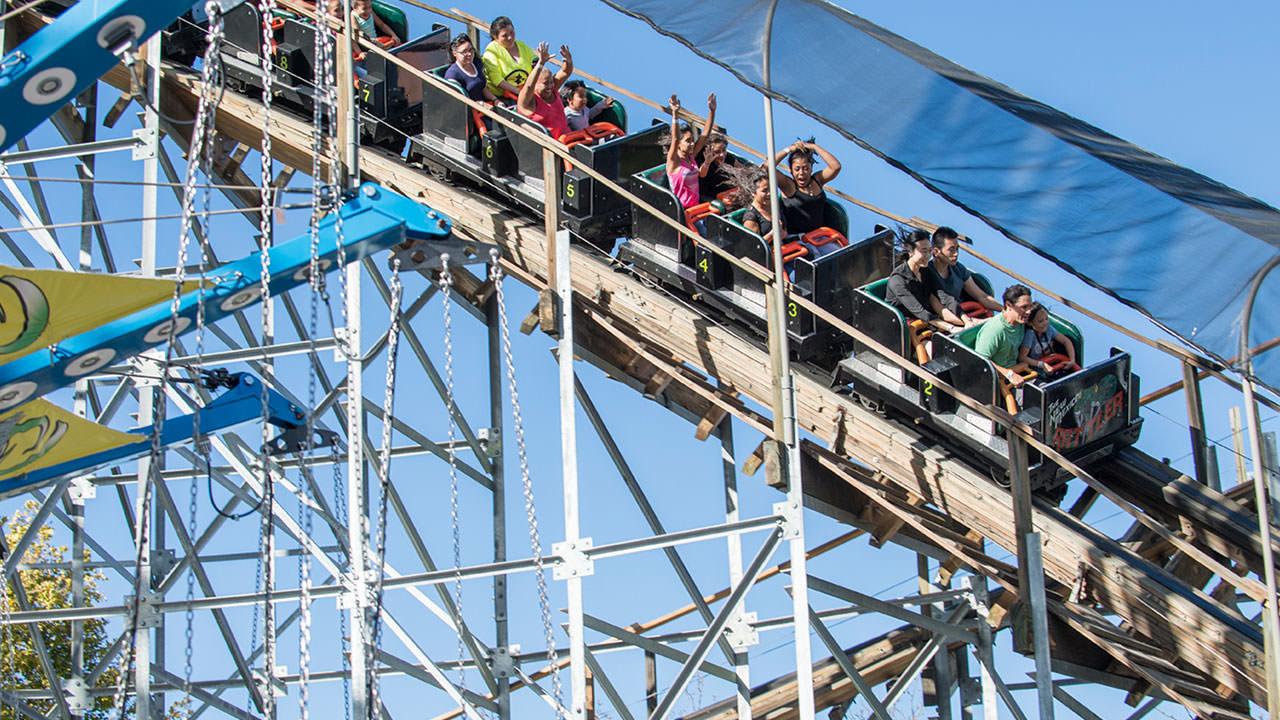 New Mexico Rattler at Cliffs Amusement Park