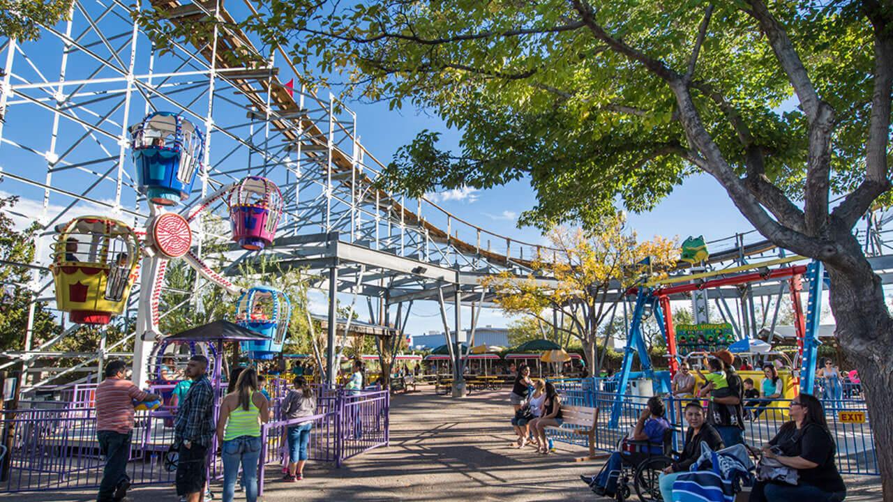 The Balloon Wheel at Cliff's Amusement Park