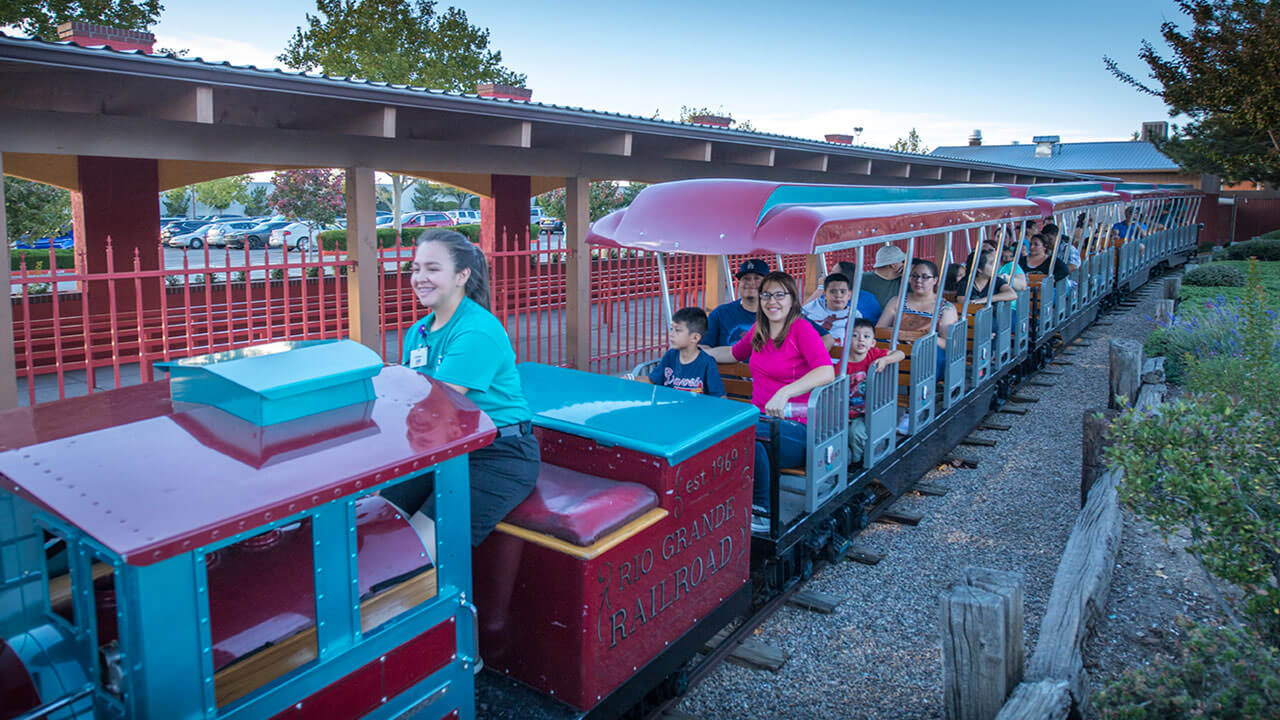 Train Ride at Cliffs Amusement Park