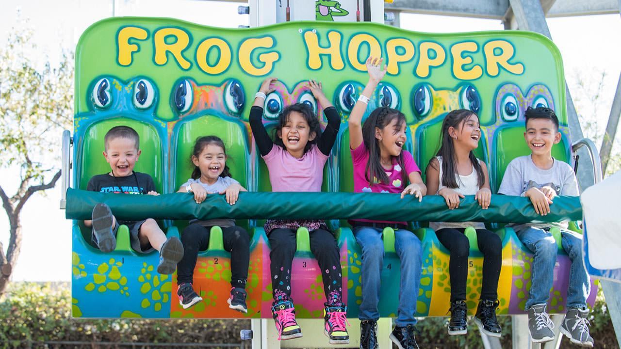 The Frog Hopper at Cliffs Amusement Park