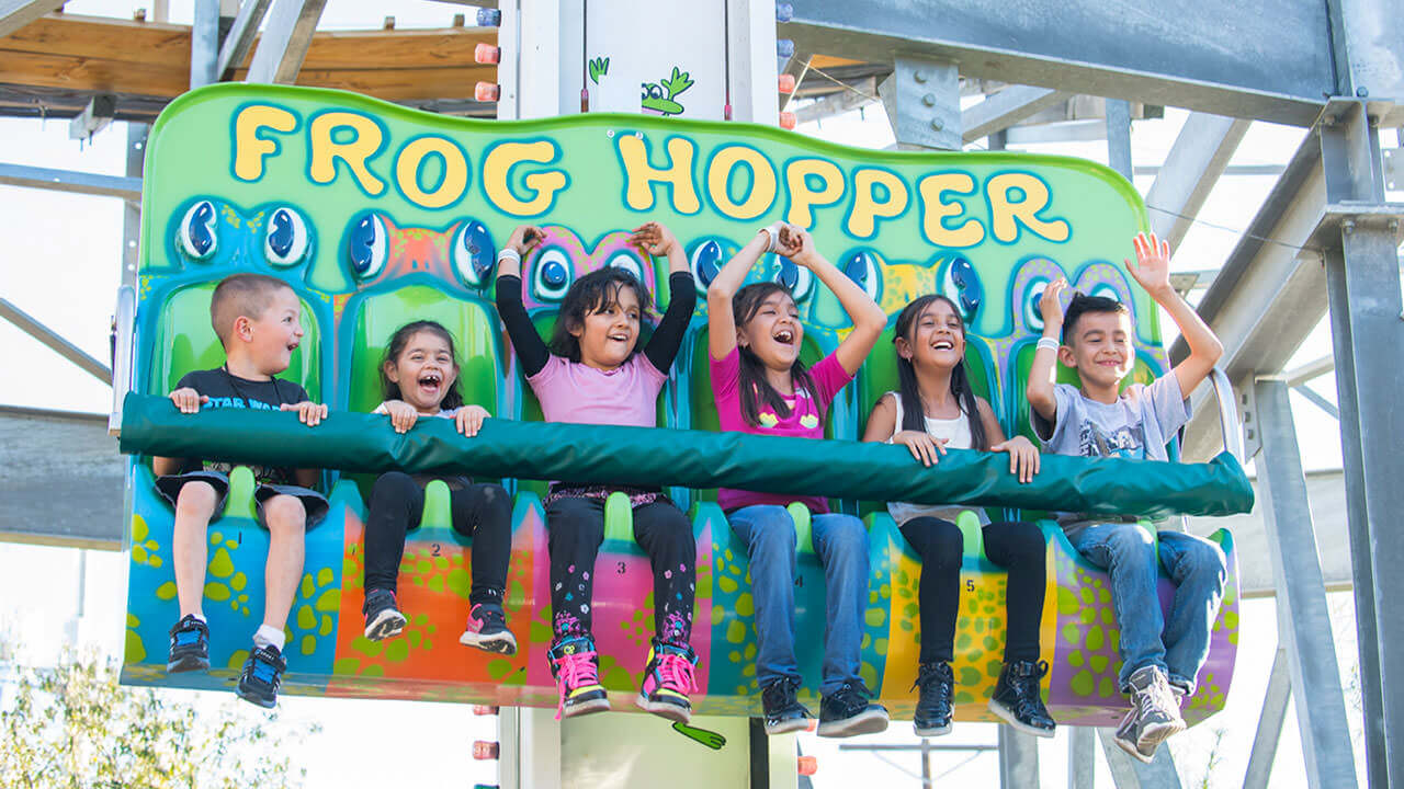 The Frog Hopper at Cliffs Amusement Park
