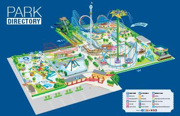 Cliff's Park Map PDF download