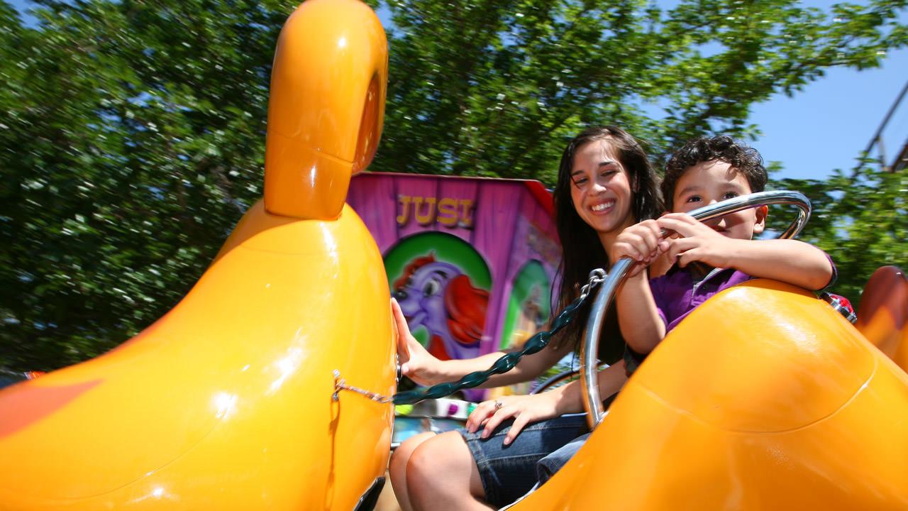 Doggie Go Round at Cliffs Amusement Park