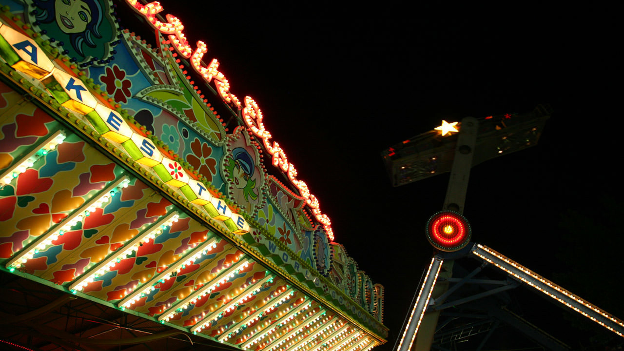 Falling Star at Cliffs Amusement Park