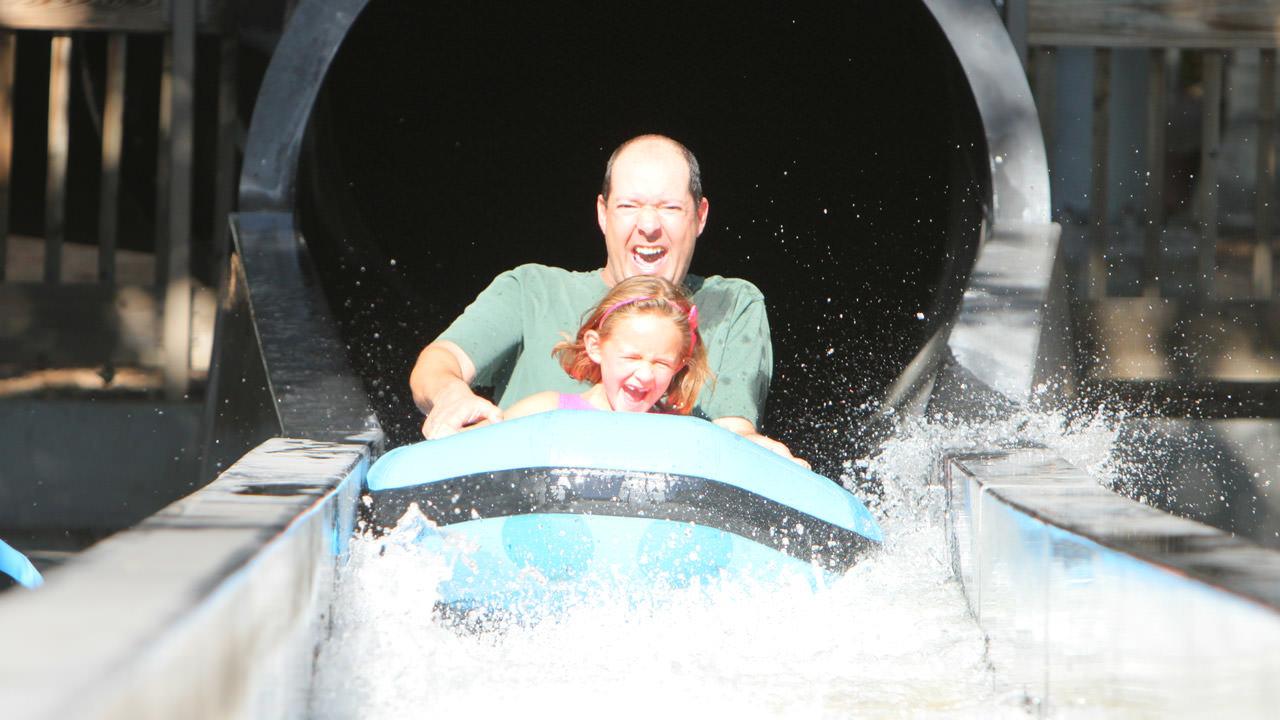 The Big Flush at Cliffs Amusement Park