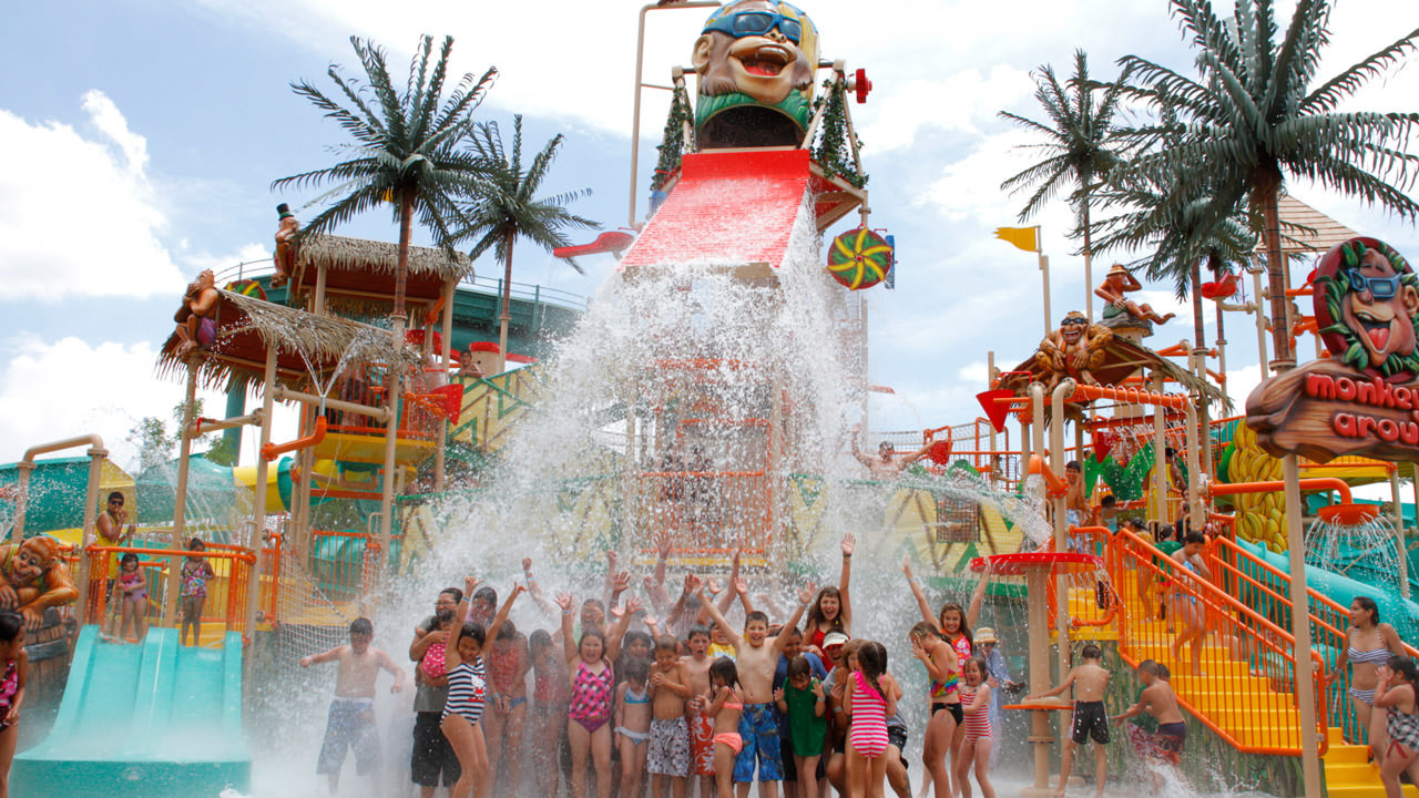 Water Mania at Cliffs Amusement Park